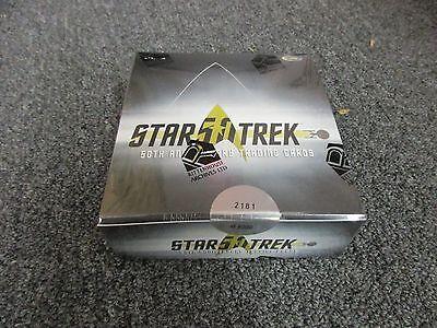2017 Star Trek 50th Anniversary Factory Sealed Hobby BOX w/ Promo P1 - NEW