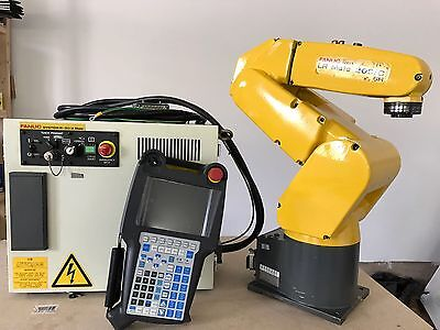 Fanuc Lr Mate 200ic5h Robot R30ia Controller Tested Industrial Lrmate