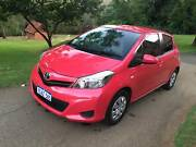 IMMACULATE 2012 Toyota Yaris YR Pink Automatic Touchscreen Stereo East Perth Perth City Area Preview