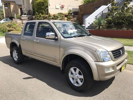 Holden Rodeo LT 2004 Dual Cab Ute Auto Low Klms