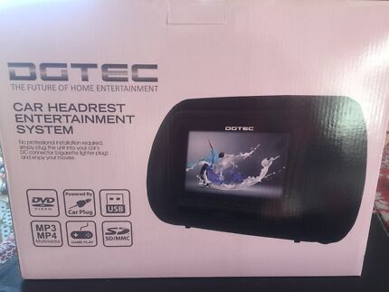 Car Headrest Entertainment system. Alice Springs Alice Springs Area Preview