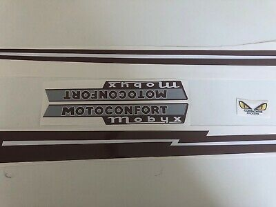 kit autocollants stickers motoconfort mobyx