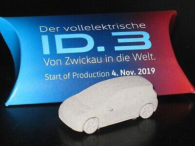 VW ID.3/ID3 Sachsen/Zwickau SOP Presse Modell 1:87 Set+Socken+Thermobecher *NEU*