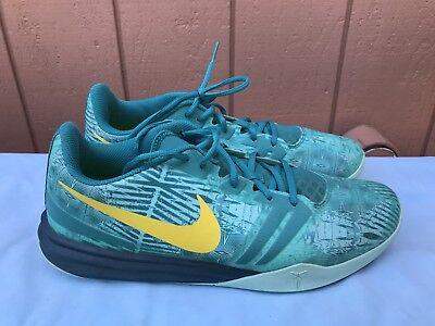 6a194b2fdfdfdb EUC Nike KB Kobe Mentality Men US 13 Basketball Artisan-Teal Green  704942-300 A6