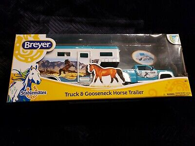Breyer Horses Truck And Gooseneck Horse Trailer Stablemate