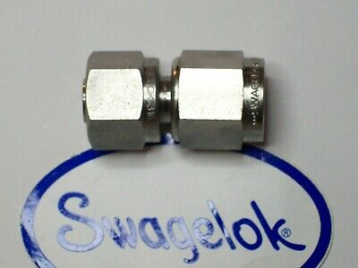 1- Swagelok Stainless Steel Union Fitting 38 Tube X 38 An Ss-600-a-6anf
