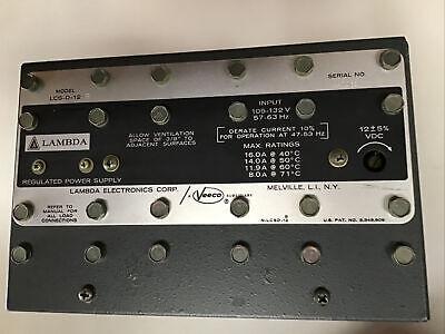 Lambda Power Supply Lcs-d-12