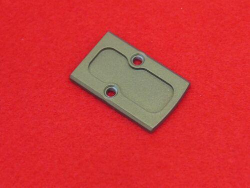 Rock Slide USA RMR Cover Plate. Matches Rock Slide Uppers Bronze For Glock 20/21