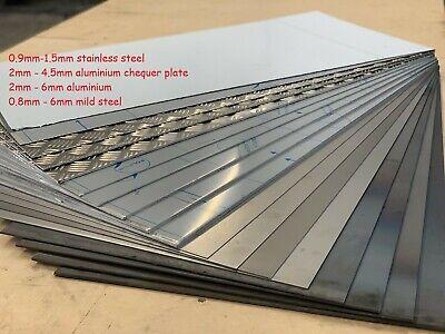 Steel Aluminium Stainless Plate Sheet 0.8mm 1mm 1.5mm 2mm 3mm 4mm 5mm 6mm