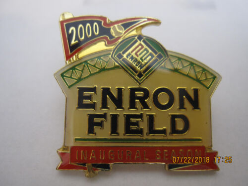 NEW-VERY RARE-ENRON FIELD Inaugural Season 2000 Pin-Astros-Now Minute Maid Park