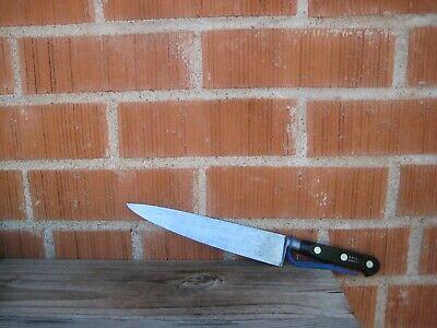 """Vintage 8"""" Blade *** SABATIER *** Carbon Chef Knife FRANCE for sale  USA"""