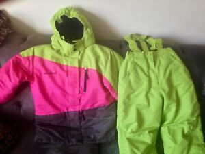 Girls Size 10/12 Quality Snow Suit Like New