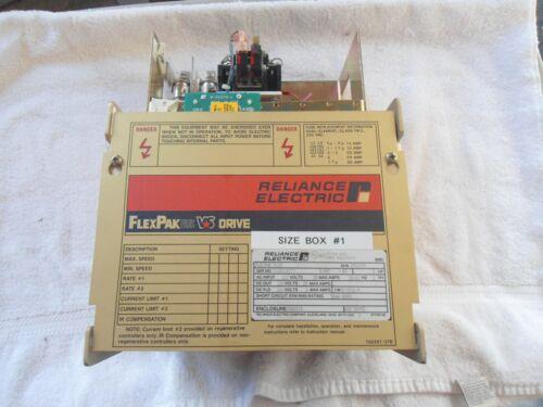 Reliance FLEXPAK Plus VS Drive    5HP        14C109U