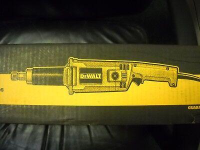 "DeWALT DW888 2"" Heavy-Duty Straight Handle Die Grinder Electric 5 Amp new"