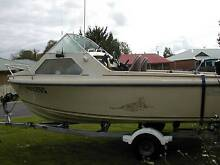 Selling Caribbean Half Cabin boat with Trailer Strathalbyn Alexandrina Area Preview