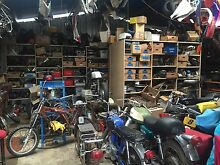 VINTAGE JAPANESE MOTORCYCLE PARTS WERRIBEE SWAP MEET THIS SUNDAY Cowes Bass Coast Preview