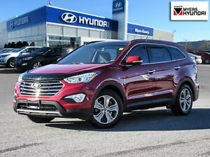 2016 Hyundai Santa Fe luxury 6 Passenger one owner