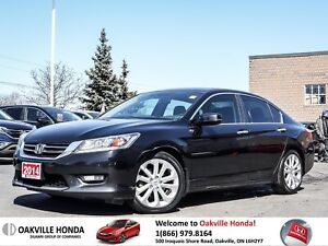 2014 Honda Accord Sedan L4 Touring CVT 1owner|Cleancarfax|Naviga