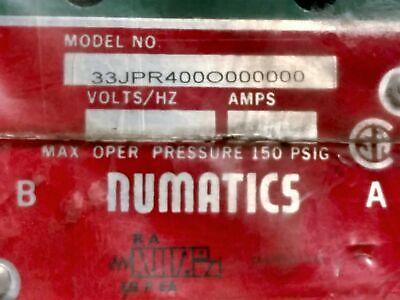 Numatics 33JPR400O000000 PA40 Series Air Pilot Valve