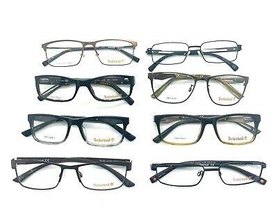8 Timberland  Metal&Plastic  Frames Wholesale lot Black Gunmetal+ glasses / (Wholesale Prescription Glasses)