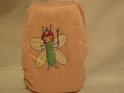 New Cloth Pocket Diaper Microfiber Insert  Pink Cute Bug Queen Boy/Girl EB0624