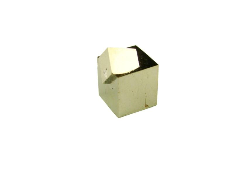 Navajun Spain Mine - Pyrite Cube Crystal With Display Case-#PC35