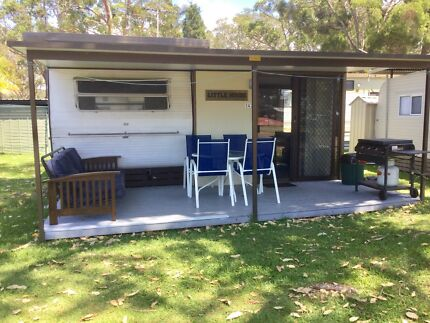 On Site Caravan Ingenia Holiday Park at Lake Macquarie
