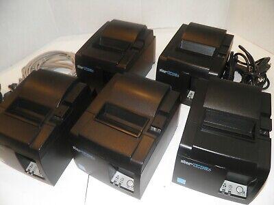 Star Tsp100 Thermal Pos Receipt Printer Tsp143iiilan W Power Cord Ethernet