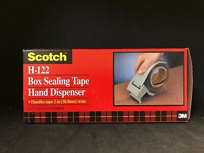 3m Scotch H-122 Box Sealing Tape Hand Dispenser 2 New In Box Free Shipping