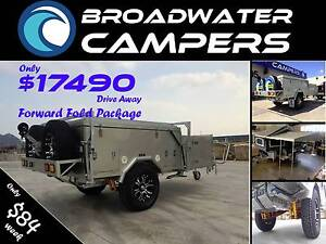 New! Forward Fold Hard Floor Off Road Camper Trailer Biggera Waters Gold Coast City Preview