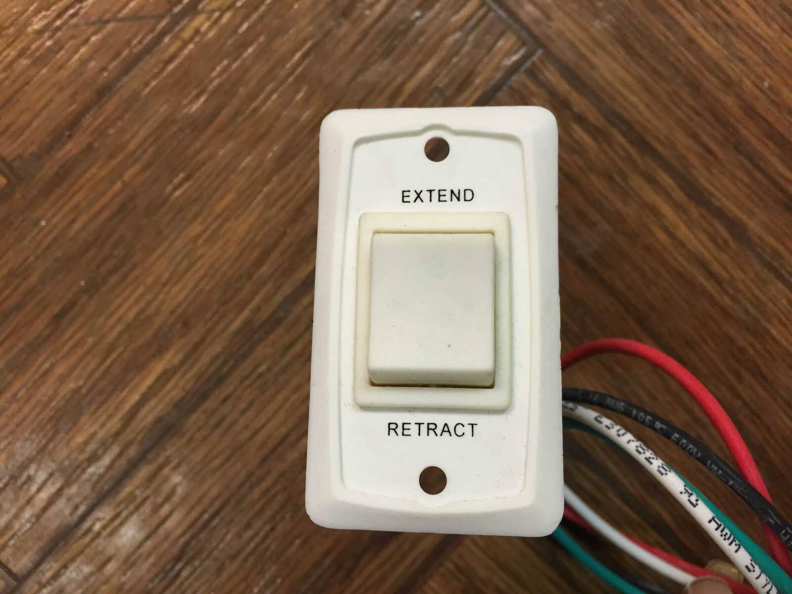 RV CAMPER MOTORHOME TRAILER 12V EXTEND RETRACT AWNING SWITCH WIRE HARNESS