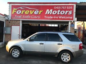 2005 FORD TERRITORY TS 4X4 AUTOMATIC SUV Long Jetty Wyong Area Preview