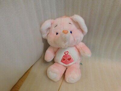 "Vintage Care Bear Cousin Lotsa Heart Elephant Pink 1984 13"" Kenner Plush Animal, used for sale  Winnipeg"