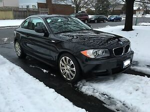 2011 BMW 128i COUPE - BLACK - LOADED - MINT CONDITION LOW KM