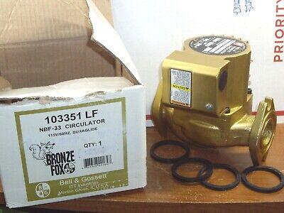 Nib - Bell Gossett Circulator Pump Nbf33 103351lf