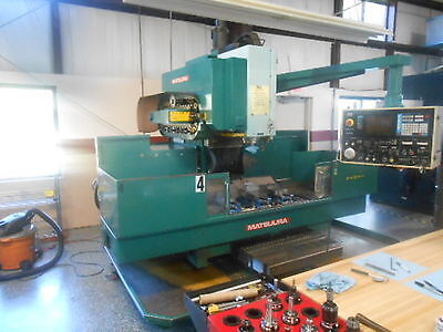 Matsuura Mc 1000 Vs2 Cnc Vertical Machining Center 3-axis Good Cond New 1985