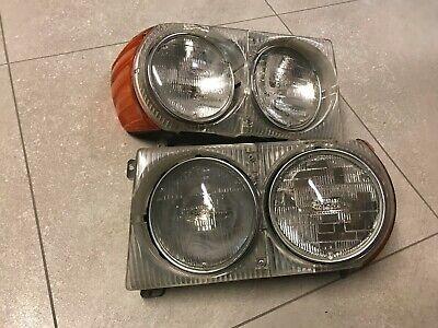 MERCEDES W107 Schraubensatz Scheinwerfer ohne LWR R107 SL SLC