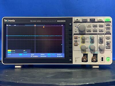 Tektronix Tbs2102 Digital Oscilloscope 100 Mhz 2 Channel