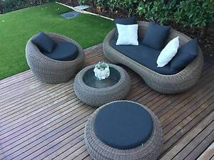 Wicker Outdoor Furniture Set in Great Condition Coogee Eastern Suburbs Preview