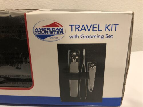 American Tourister Travel Kit With Grooming Set, ATU422802 - $34.99
