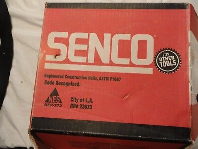 1830 Pc Lot Senco Fasteners 2-38 X .113 Nail Gun Nails Full Round Head