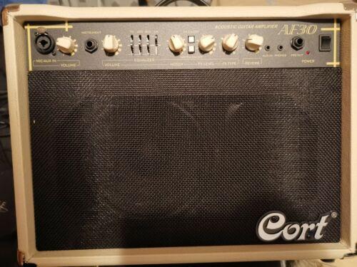 CORT AF30 Akustik Gitarrenverstärker / Akustik Gitarren Combo, 2 Kanal Amp