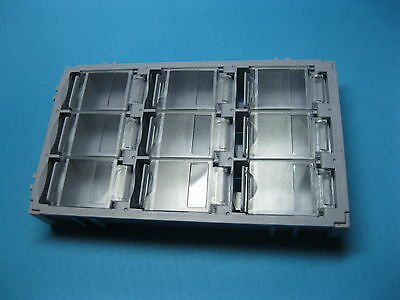 8 Pcs Smt Electronic Component Mini Storage Box 9 Lattice Blocks Gray T-155 New