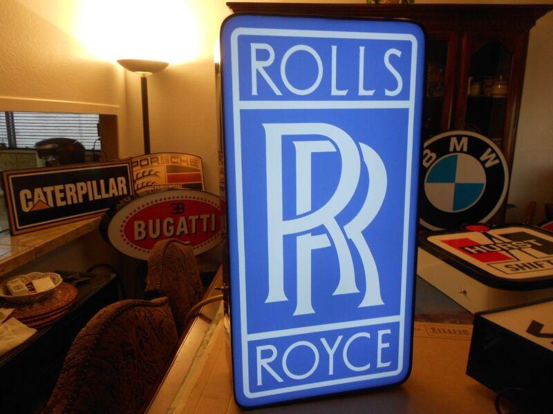Rolls Royce Lighted Sign