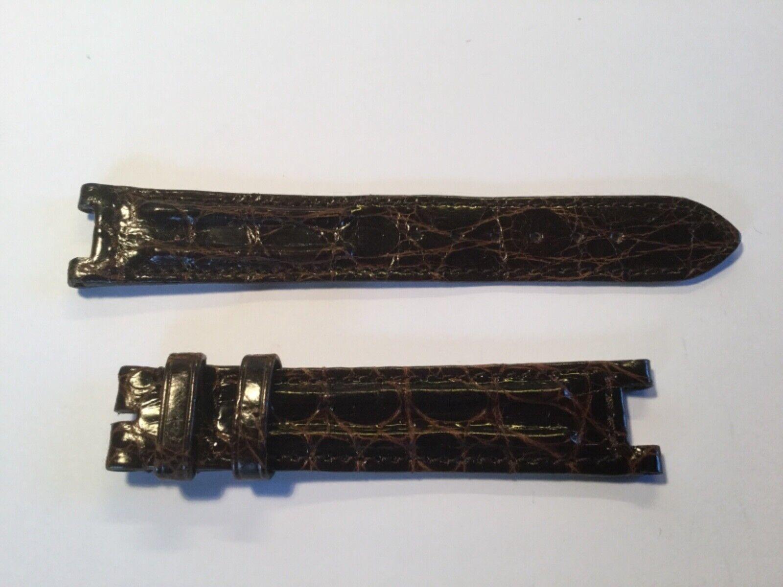 Cartier Kroko Armband  Dornschließe 18mm