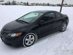 2008 HONDA civic LX sunroof automatic loaded 175 km $5999