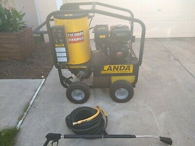 Landa Mvc3 - 3000 Pressure Washer Hot Water
