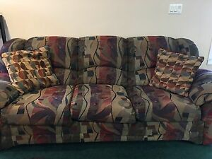 Couch with matching chair