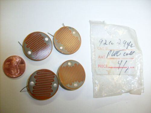 4  lot  Vintage Photocell - NOS