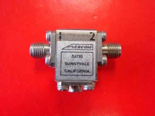 AERCOM 9-11GHz Isolator Model AER0329, SMA